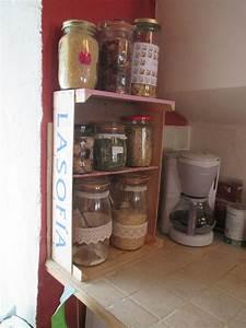 Recyclage Petite Cagette : recyclage d 39 une cagette en etag re les petits ouvrages d 39 lfiria ~ Nature-et-papiers.com Idées de Décoration
