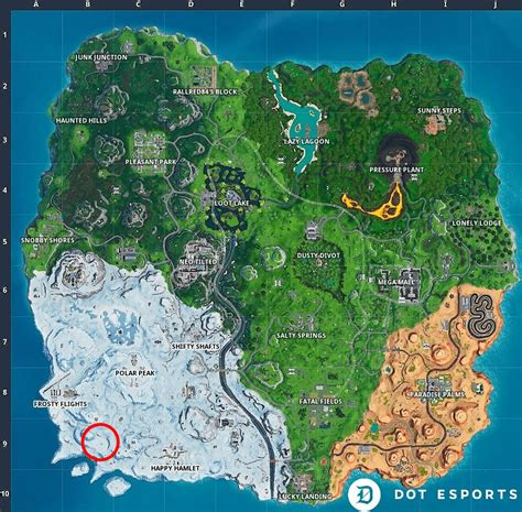 Fortnite: Fortbyte 49 Location - Found in Trog's Ice Cave ...