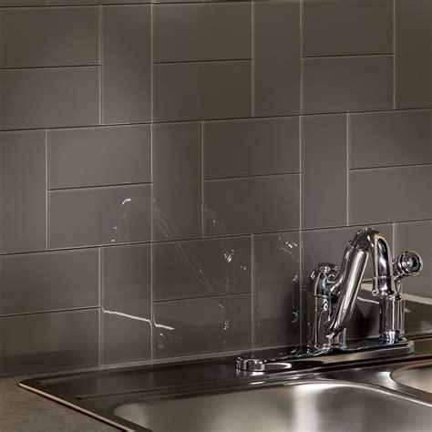 kitchen with glass backsplash aspect backsplash 3x6 glass tile in leather tile
