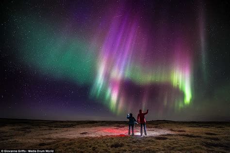 what time can we see the northern lights tonight photographer giovanna griffo captures northern lights in