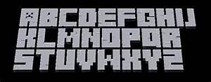 Minecraft 3D Font Preview Minecraft Blog