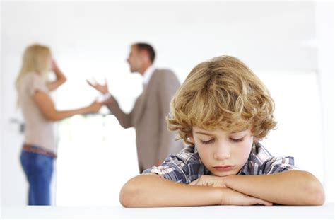 children  divorce study finds younger children feel