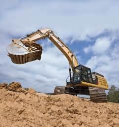 cat excavators caterpillar packs more power than its predecessor