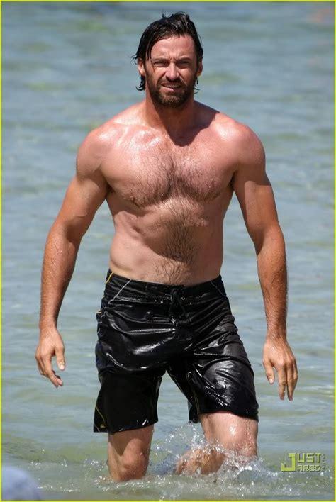 jackman hugh hollywood shirt shirtless career muscles filmography