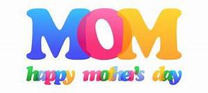 Happy Mothers Day. Typography Letters Font Type Stock ...