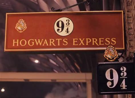 hogwarts express    signage  literature
