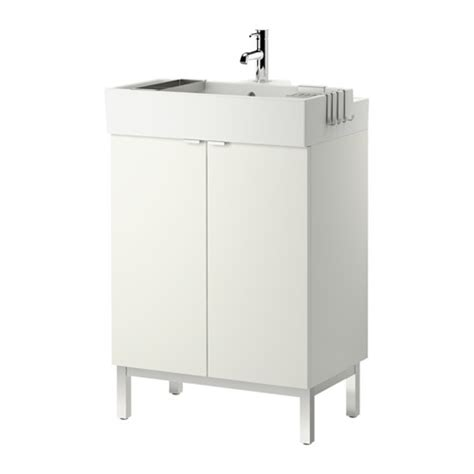 Ikea Lillangen Sink Uk by Lill 197 Ngen Sink Cabinet With 2 Doors White 23 5 8x16 1