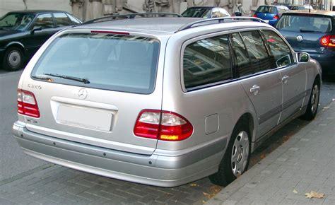 mercedes kombi file mercedes w210 kombi rear 20071106 jpg wikimedia commons