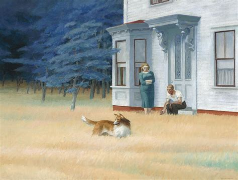 Cape Cod Evening Painting By Edward Hopper