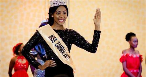 Musa Kalaluka Es Miss Zambia 2017