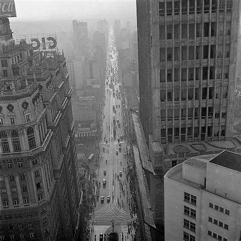 Sao Paulo In The 40s, 50s & 60s Avenida Sao Joao