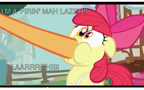 Shoop Da Whoop Meme - apple bloom shoop da whoop shoop da whoop i m a firin mah lazer know your meme