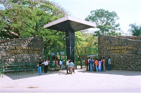zoo mysore zoological gate entrance park gardens chamarajendra mysuru sri national india zoos places wikimedia timings entry bangalore bannerghatta holiday