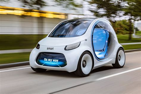 Smart Vision Eq Fortwo Concept How 2030 Will Benefit Ride