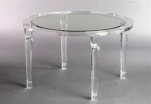 meubles en plexiglas design par les meilleurs createurs With table en plexiglas salle a manger