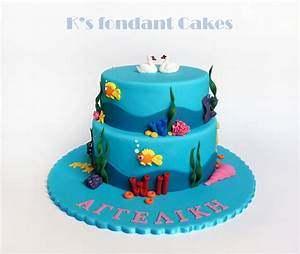 Seabed Cake - CakeCentral com
