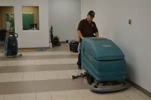 services commercial waxed floor maintenance in out