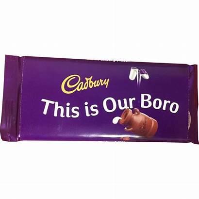 Bar Boro Chocolate Middlesbrough Fc