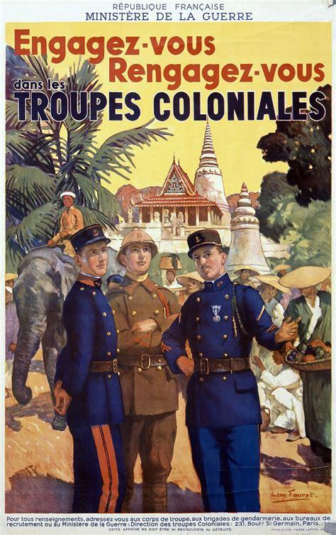 le recrutement de la coloniale histoire  analyse