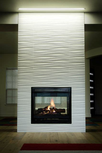 amazing fireplace tile ideas   living room