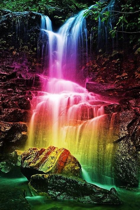 desktop wallpapers waterfalls  rainbow wallpapersafari