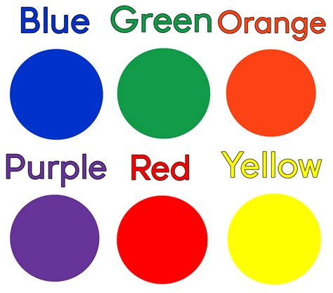 learning colors for toddlers two ingredient playdough free color learning printable