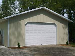 pole barn prices hansen buildings With 18 x 24 garage kit