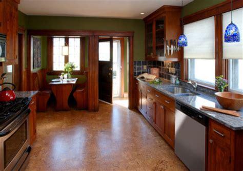 cork flooring for kitchens craftsman kitchen eclectic kitchen 5815
