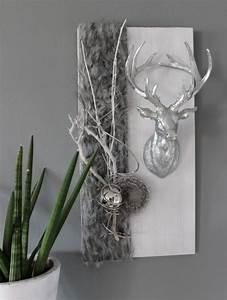Wanddeko Für Draußen : he87 wanddeko aus neuem holz wei gebeizt dekoriert mit nat rlichen materialien ~ Eleganceandgraceweddings.com Haus und Dekorationen
