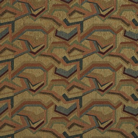 Blue And Orange Upholstery Fabric by Burgundy Orange Blue And Green Chenille Upholstery