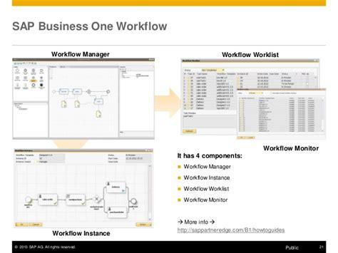 sap business workflow resume autodesk technical webinar sap business one