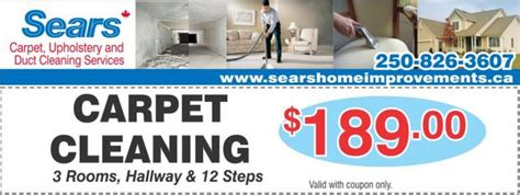 Sears Upholstery Cleaning Coupons by Carpet Cleaning 189 At Sears Carpet Upholstery Duct