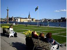 PHOTO of Sweden, Stockholm, view on the water, the Swedish