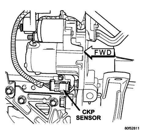 Crankshaft Sensor Location Where The