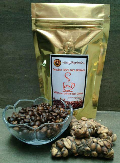 Kopi Luwak Civets Coffee genuine arabica civet coffee kopi luwak fresh