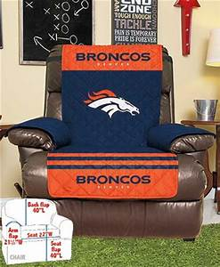 Nfl chair covers or recliner covers the lakeside collection for Nfl furniture covers