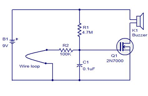 Wire Loop Alarm Based Audio Wiring Diagram