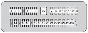 2004 Tundra Fuse Panel Diagram