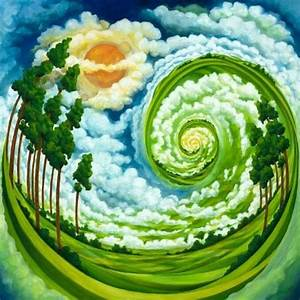 Trippy Nature Art images