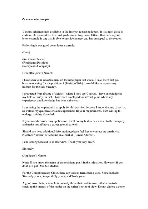 cv and cover letters basic cover letter for a resume jantaraj com