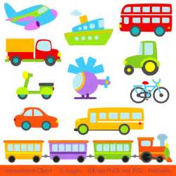 Train Transportation Clip Art