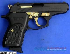 Bersa Thunder 380 With Gold Parts For Sale