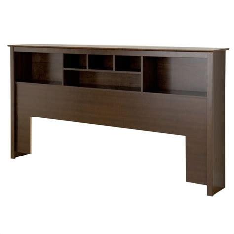 bookcase headboard king manhattan king bookcase headboard wood espresso bookcasein