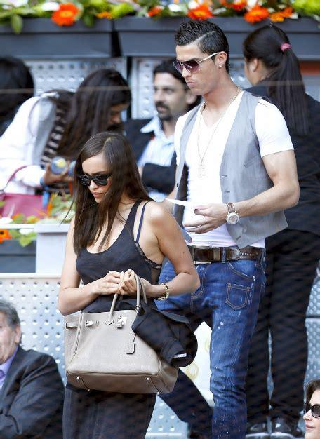 Irina Shayk and Cristiano Ronaldo Son