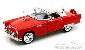 1956 Ford Thunderbird Hard Top, Red  Motormax 73176  118 scale diecast model toy car