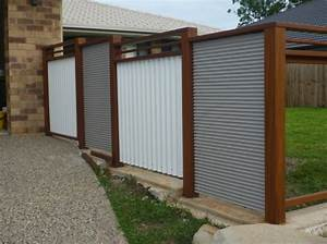 How, To, Put, Up, A, Corrugated, Metal, Fence, Fence, And, Gate, Ideas