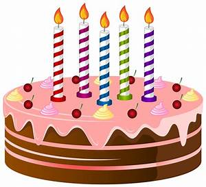Birthday cake clipart free clipart images - Clipartix