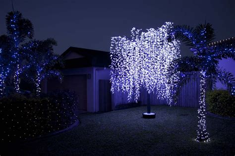 2015 outdoor lighting artificial trees decorating
