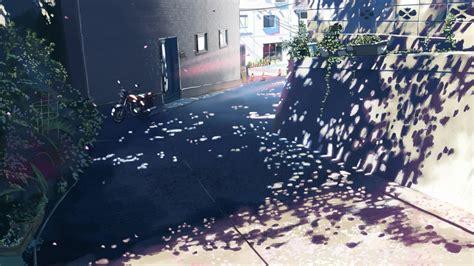 centimeters   anime makoto shinkai sunlight