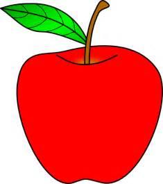Red Apple Clip Art